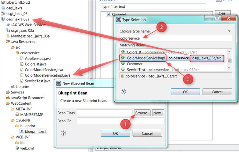 Integrating jax rs create new blueprint bean malvernweather Image collections
